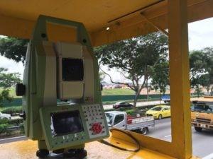 Monitorings lāzerskenešana